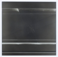 A Sense of Place..? (2010), Charcoal and Acrylic on Etched Aluminum, 2ft x 2ft